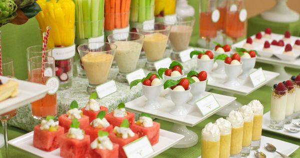 Healthy party snacks - these look great! [ Partymachines.com ] Party Food