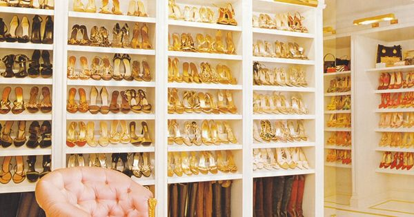 "Mariah Carey ""I have about 1,000 pairs of shoes. But lots are"