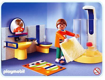 Playmobil Set 3969 Bathroom Klickypedia Met Afbeeldingen