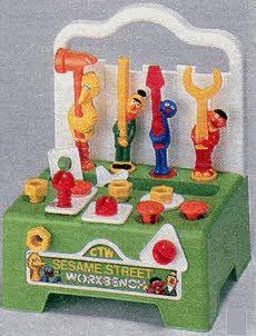 Sesame Street Workbench Sesame Street Toys Sesame Street Cool Toys