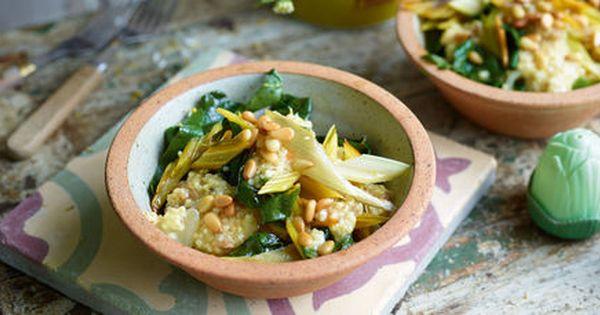 Fruchtiger Bulgur Salat Mit Pak Choi Rezept Rezepte
