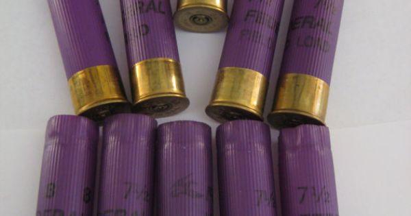 Huge Lot 6 Empty Shotgun Shells Hulls 16 Gauge Federal