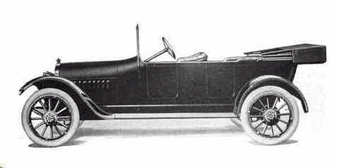 1916 Briscoe Touring Briscoe Motor Car Co Jackson Mi 1914 1921