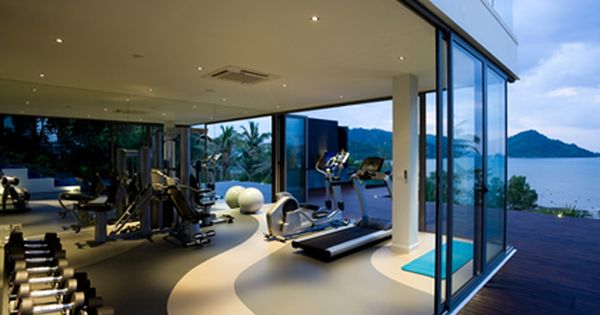 Home gym design  Luxury home gym | Home Gym Design Trends & Equipment | Pinterest ...
