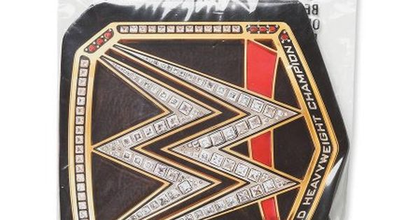 Wwe Chapion Title Award Belt 4 Count Party Supplies