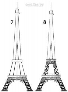How To Draw The Eiffel Tower Step By Step Pictures Eiffel Tower Painting Eiffel Tower Eiffel
