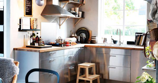 umweltfreundliche k che mit faktum eckunterschrank mit karussell unterschrank f r sp le. Black Bedroom Furniture Sets. Home Design Ideas