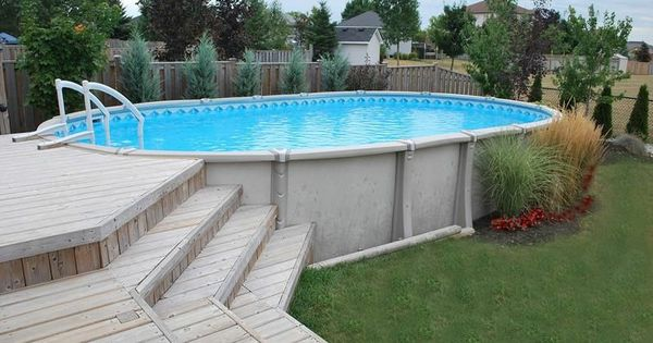 Pin By Beth Hayes Strohmeyer On Pool Ideas In 2020 Best Above Ground Pool Pool Landscaping In Ground Pools
