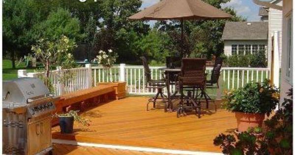 Planter Seating Combo Painted Railing Herringbone Deck Pattern Deck Small Deck Cedar Deck