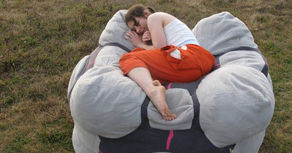 That giant companion cube bean bag... must be mine