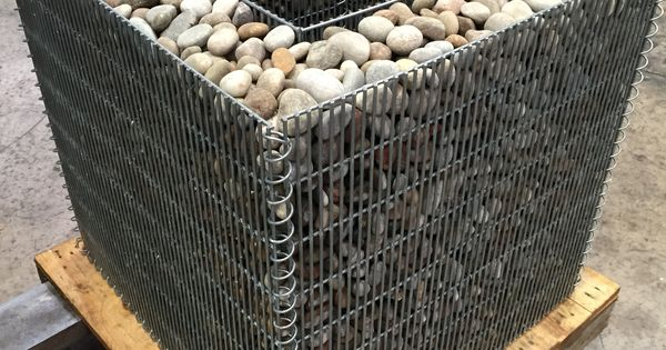 Gabion planter no lid stone wall pinterest for Outdoor furniture jeddah