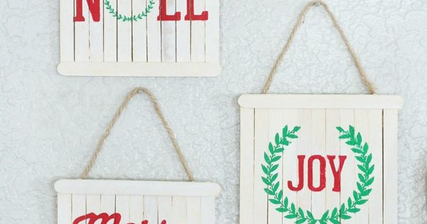 Pallet Signs Popsicle Sticks And Pallets On Pinterest