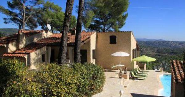 Villa roc bellevue seillans comfortabele authentieke proven aalse villa met verwarmbaar - Provencaalse terras ...