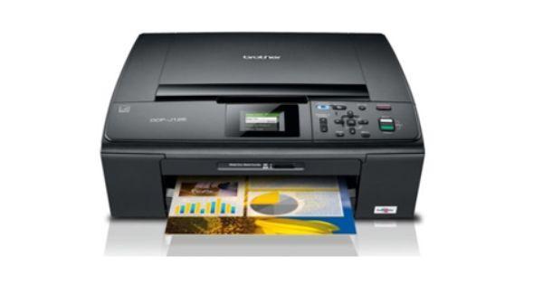 Brother Dcp J125 Driver Printer Printer Brother