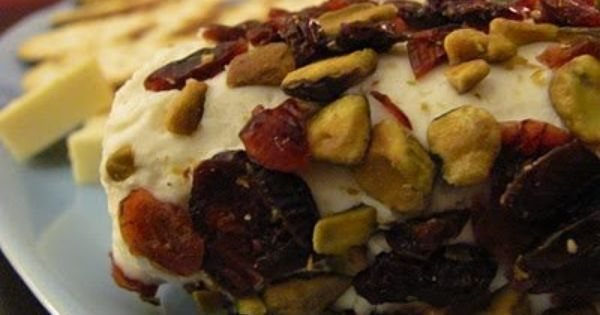 Pistachios, Cranberries and Goat cheese on Pinterest