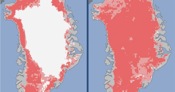 94% of Greenland melted in July. How many more countries need to
