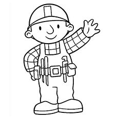 Top 10 Free Printable Bob The Builder Coloring Pages Online Bob The Builder Coloring Pages Coloring Pages For Kids