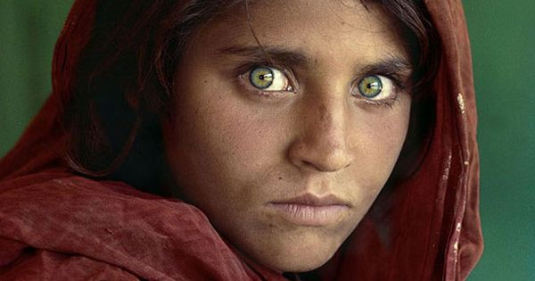 "One of my favorites. ""Afghan Girl"" - When he wandered into an"