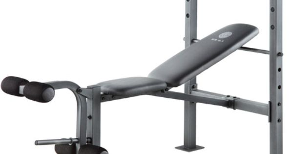 Gold S Gym Xr 6 1 Bench Gym Amp Workout Pinterest