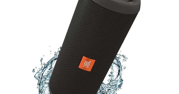 Jbl Flip 3 Splashproof Portable Bluetooth Wireless Speaker Black Original Jbl Bluetooth Speakers Portable Jbl Bluetooth Speaker