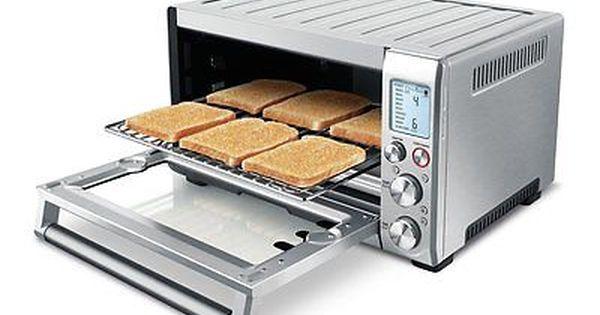 Breville Bov450xl Mini Smart Oven With Element Iq Smart Oven Convection Toaster Oven Toaster Oven
