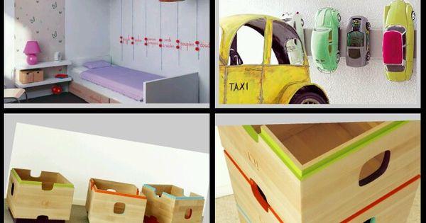 Formas de organizar los juguetes caoticos de tu hijo 2 - Organizar habitacion infantil ...
