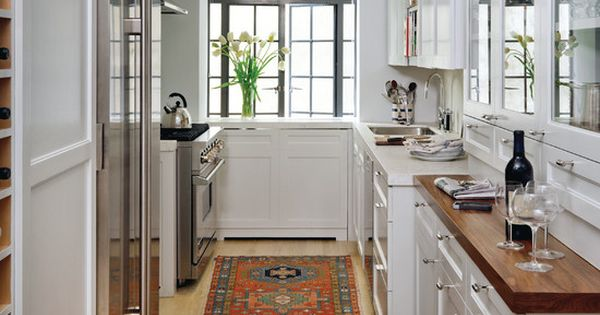 Galley style kitchen design ideas for the abode : Galley style kitchen, Kitchen design and ...