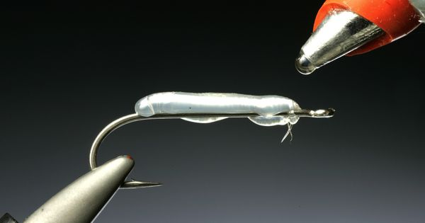 Glue Gun Techniques for Tying Flies. adtech outdoor ideas.