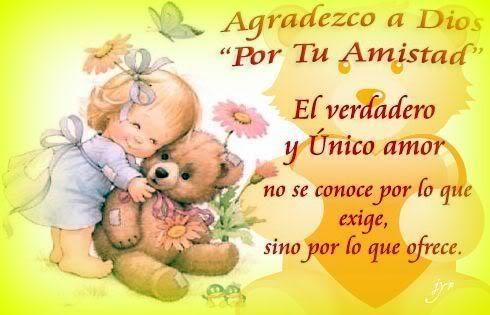 Amor41 Imagen Tierna Tarjeta De Agradecimiento Imagenes De