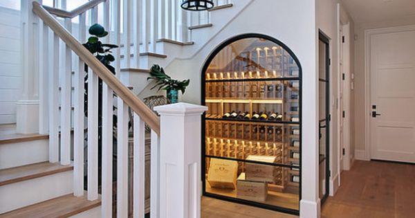 Best Showcase Stairway Love The Wine Cooler Built Under The 640 x 480
