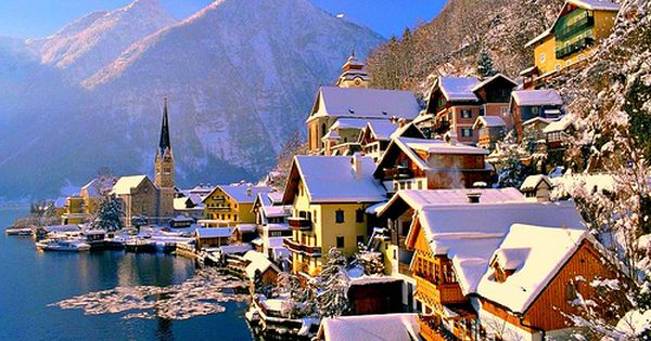 Hallstatt, Austria. Favorite place. Must see in the winter
