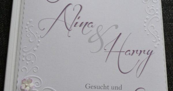 Gästebuch Hochzeit mit Prägung  Produkte und Hochzeit