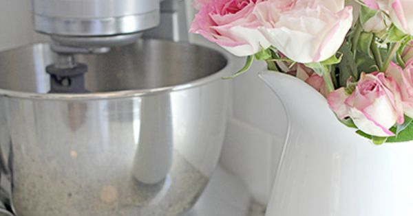 Pale pink roses in the kitchen flora pinterest kitchens kitchenaid and kitchen accessories - Pink kitchenaid accessories ...