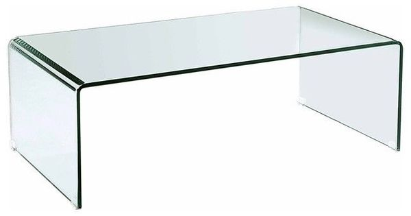 Reduced freedom glass bent curved ghost coffee table preparing to sell pinterest coffee Ghost coffee table