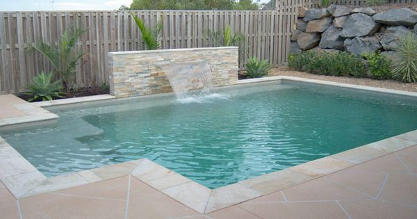 Rectangle pools gold coast by design pools gold coast for Pool design gold coast