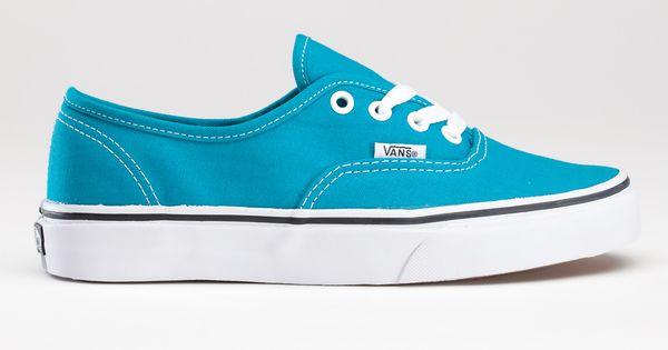 """""""enamel blue"""" vans"""