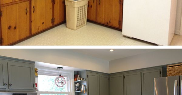 12 diy cheap and easy ideas to upgrade your kitchen 4 for Cheap ideas to redo kitchen cabinets