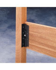 Surface Mounted Keyhole Bed Rail Brackets Bed Hardware Bed
