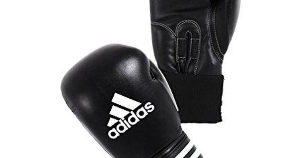 adidas Performer Boxing Gloves ClimaCool - Black/White - 16oz ...