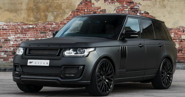 Range Rover Black >> Kahn Design has years of experience working on different Range Rover and Land Rover models ...