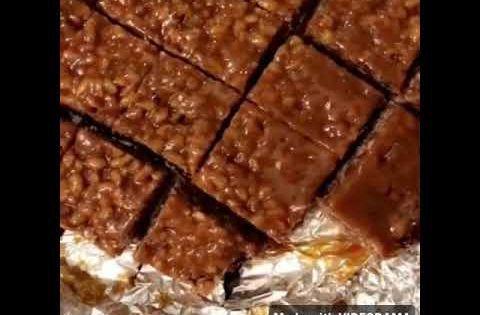 حلى المارس الرايس كرسبي اسهل طريقه Youtube Food Yum Desserts