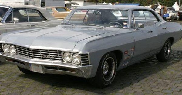 1967 Chevy Impala 4 Door 575 600 All 1967 Chevrolet Impalas