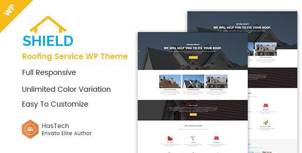 Shield Roofing Service Wordpress Theme Business Themeforest Envatomarket Templates Website Themes Website Template
