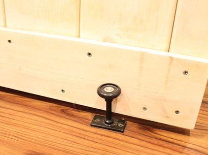 Barn Door A Floor Guide From Home Depot Keeps The Bottom