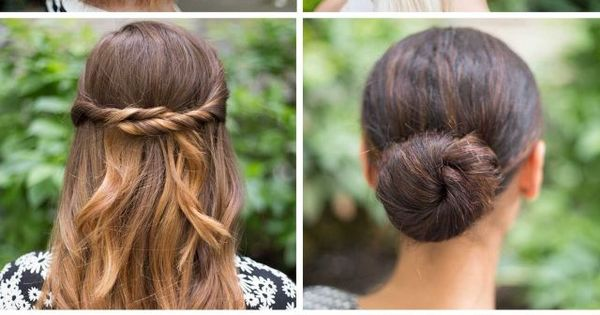 Lazy girl hairstyles and super easy hairstyles on pinterest
