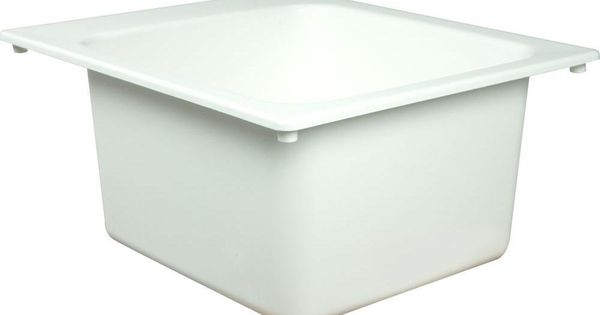 American Standard DL1720100 Fiat Molded Stone Utility Sink - Stone ...