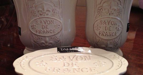 Tahari French Soap Dish - Savon De France