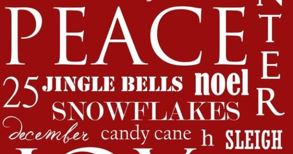 Free Christmas Art printable