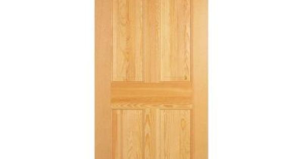 Masonite Radiata Smooth 6 Panel Solid Core Unfinished Pine Interior Door Slab 71550 At The Home