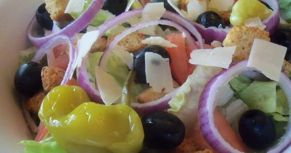 Olive Garden Salad Copycat Salad Recipes Pinterest Gardens Salads And Olive Garden Salad